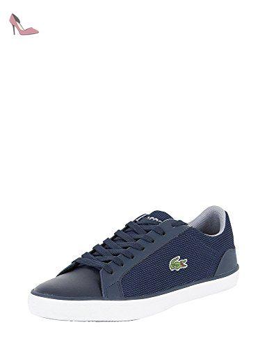 Lacoste Homme Lerond S117 1 JD SPM Formateurs, Bleu, 42 - Chaussures lacoste (*Partner-Link)