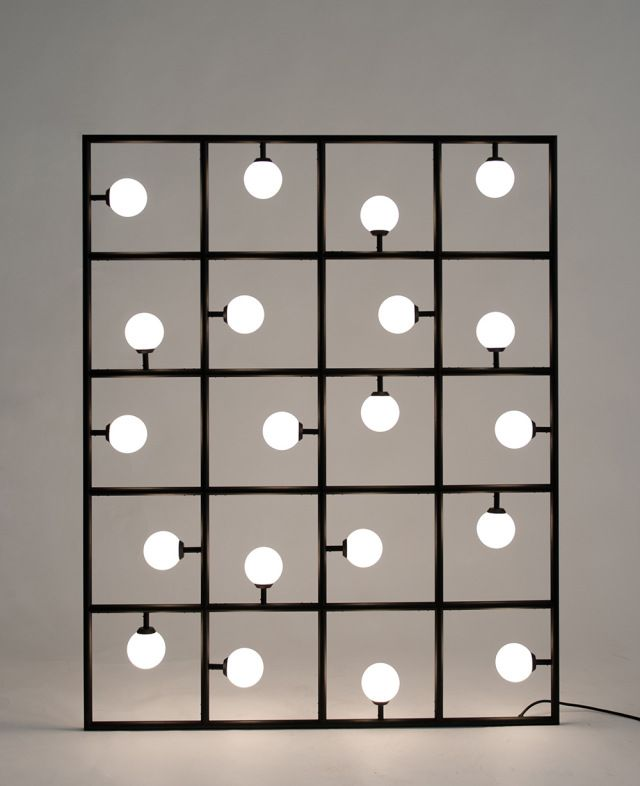 Atelier Areti Lighting...This could be built and used to light dark spaces, let's face it, there is rarely enough light in a rental.