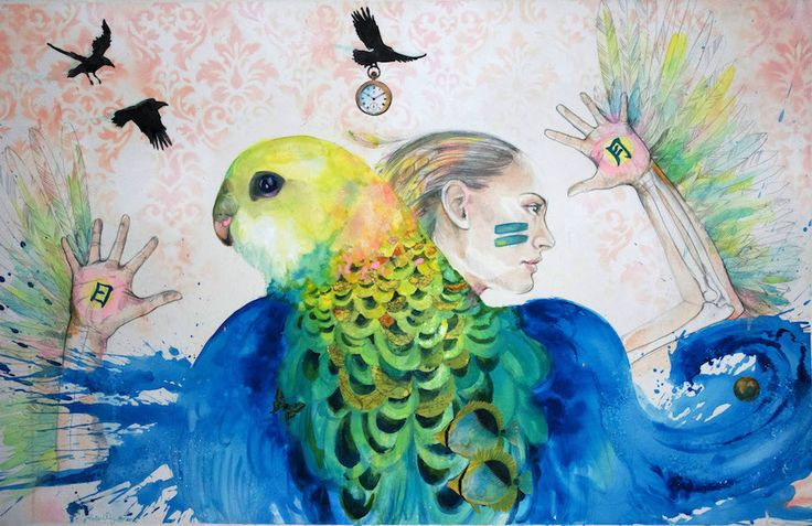 Mixed Media and Watercolour by Robbi Wymer – PLATFORMstore