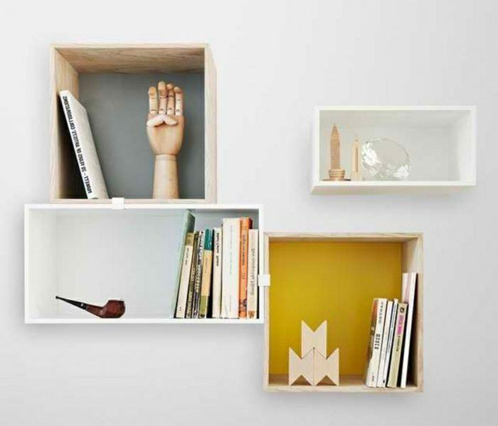 les 25 meilleures id es de la cat gorie etagere cube sur pinterest lampes murales encastr es. Black Bedroom Furniture Sets. Home Design Ideas
