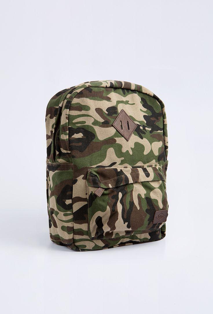 Lee Cooper bag Abberton camo Unisex