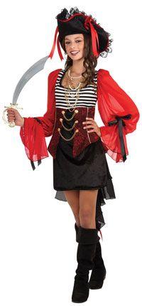 Teen Treasure Island Pirate Costume - Pirate Costumes