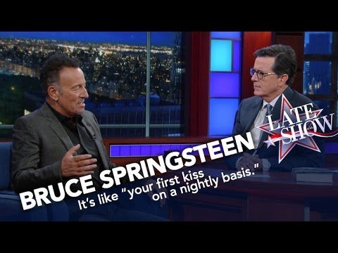 The Boss Has A Transcendent Experience At His Concerts, Too | Bruce Springsteen describes how it feels to be on stage amid the cathartic group experience that makes his concerts the stuff of legend.