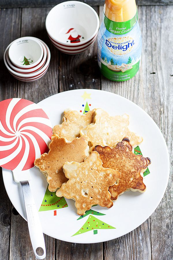 Frosted Sugar Cookie Pancakes - Heather's French Press