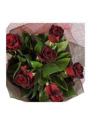 Half Dozen Red Roses - Auckland Only - Bestow