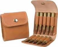 Leather Ammo Case - Brown - 10 Magnum Loops