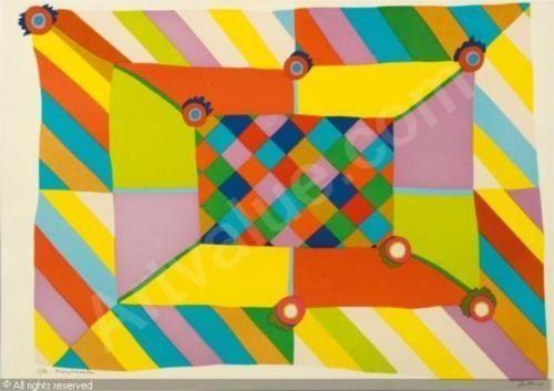 Walter Battiss (1906 - 1982) | Abstract Art | Marabaraba