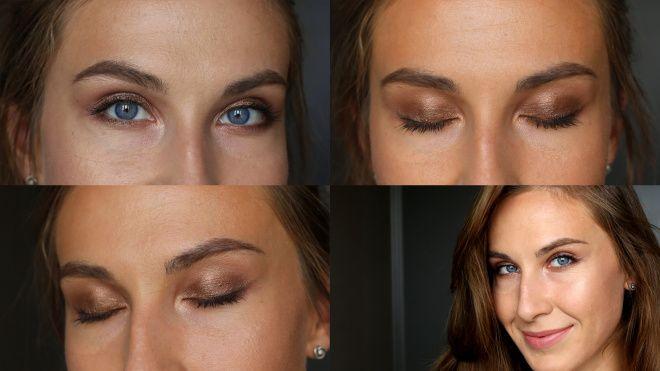 Летний бронзовый макияж с тенями NYX Prismatic Shadows + видео