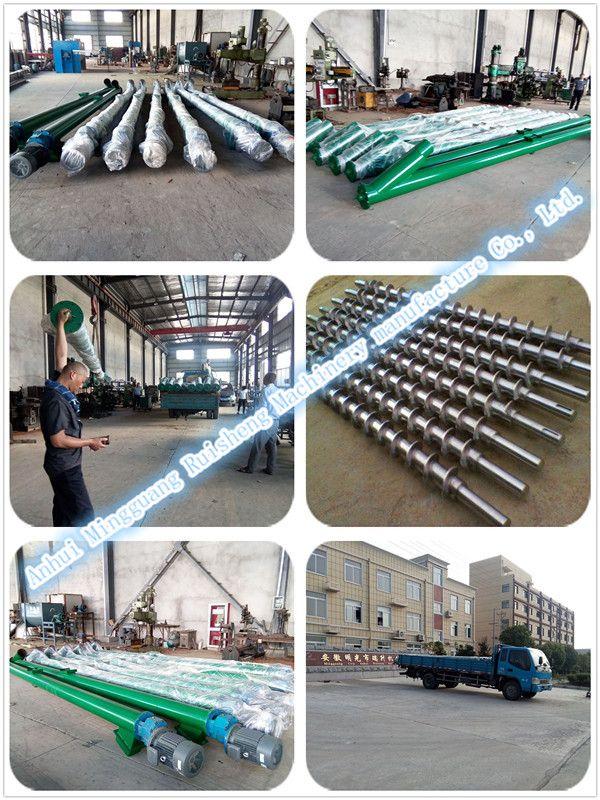 Factory price stainless steel flexible mini screw conveyors