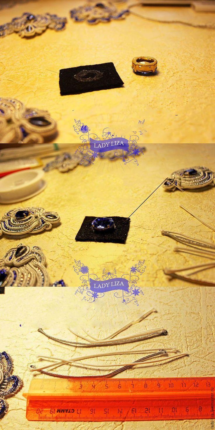 Тема моря не может не вдохновлять! Давайте вместе с вами сделаем нежное колье «Прибой» в технике сутажной вышивки! Это колье прекрасно подойдет для вечернего или свадебного образа. Согласно условиям конкурса, ключевой элемент изделия — роскошные ювелирные кристаллы Сваровски глубокого и насыщенного оттенка «Сапфир». Этот мастер-класс средней сложности, некоторые детали в нем опущены, но описаны в предыдущих моих мастер-классах.