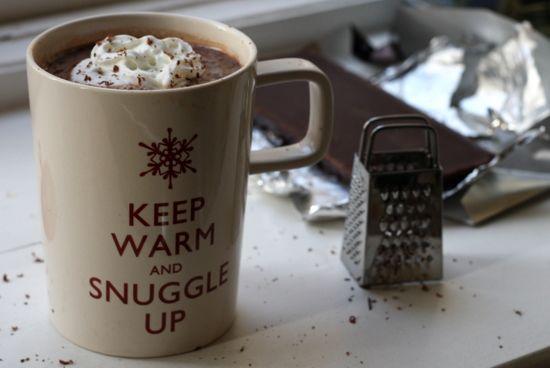 salted caramel vodka hot chocolate