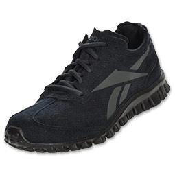 Introducing RealFlex, an incredibly flexible and lightweight shoe that is engineered with 76 independent sensors that help promote the natural movement of your feet. These unique sensors are strategically positioned to flex and move throughout your stride while providing protection under your feet as you run or train. Also features a Reebok Classic upper for a retro twist on a brand new style.