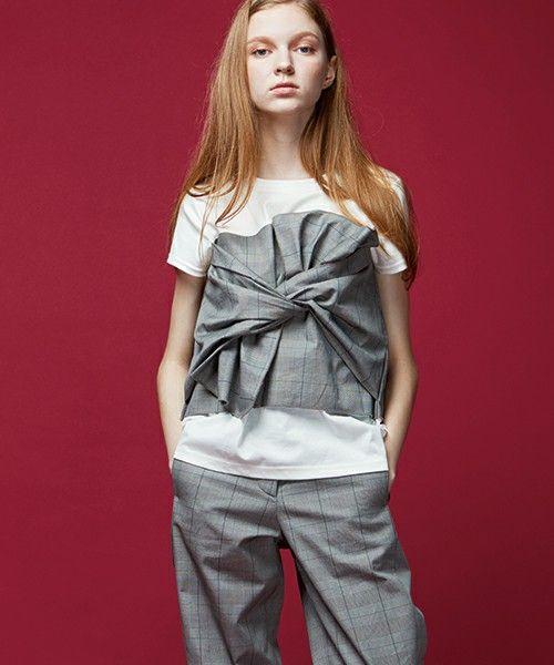 【ZOZOTOWN|送料無料】TRUNO by NOISE MAKER(トルノバイノイズメーカー)のTシャツ/カットソー「ビスチェ風デザインTシャツ」(NM-LT-007)を購入できます。