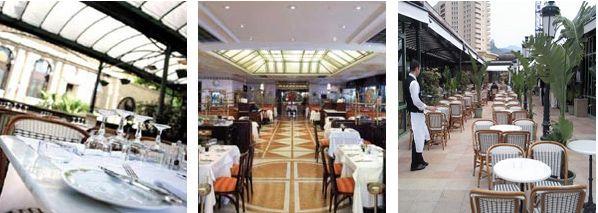 The Brasserie Café de Paris Monte Carlo Open daily from 8 a.m. to 2 a.m.  Tel : (377) 98 06 76 23 / 24