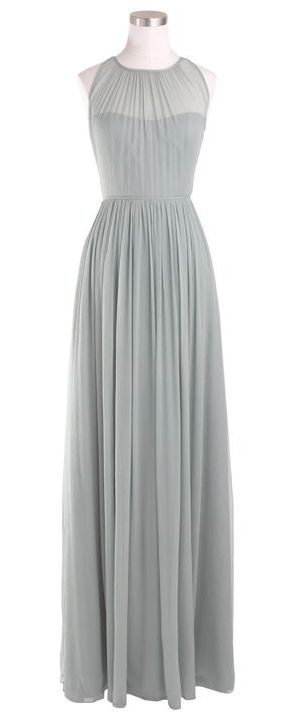Sheer chiffon dress @Emily Schoenfeld Wilkinson this could be pretty for your wedding!!