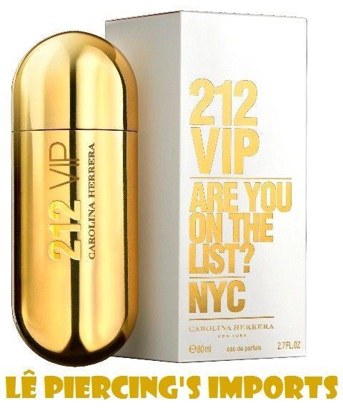 Perfume 212 Vip Feminino 80ml Eau de Parfum Carolina Herrera