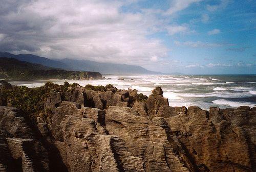 New Zealand - Punakaiki, Dolomite Point