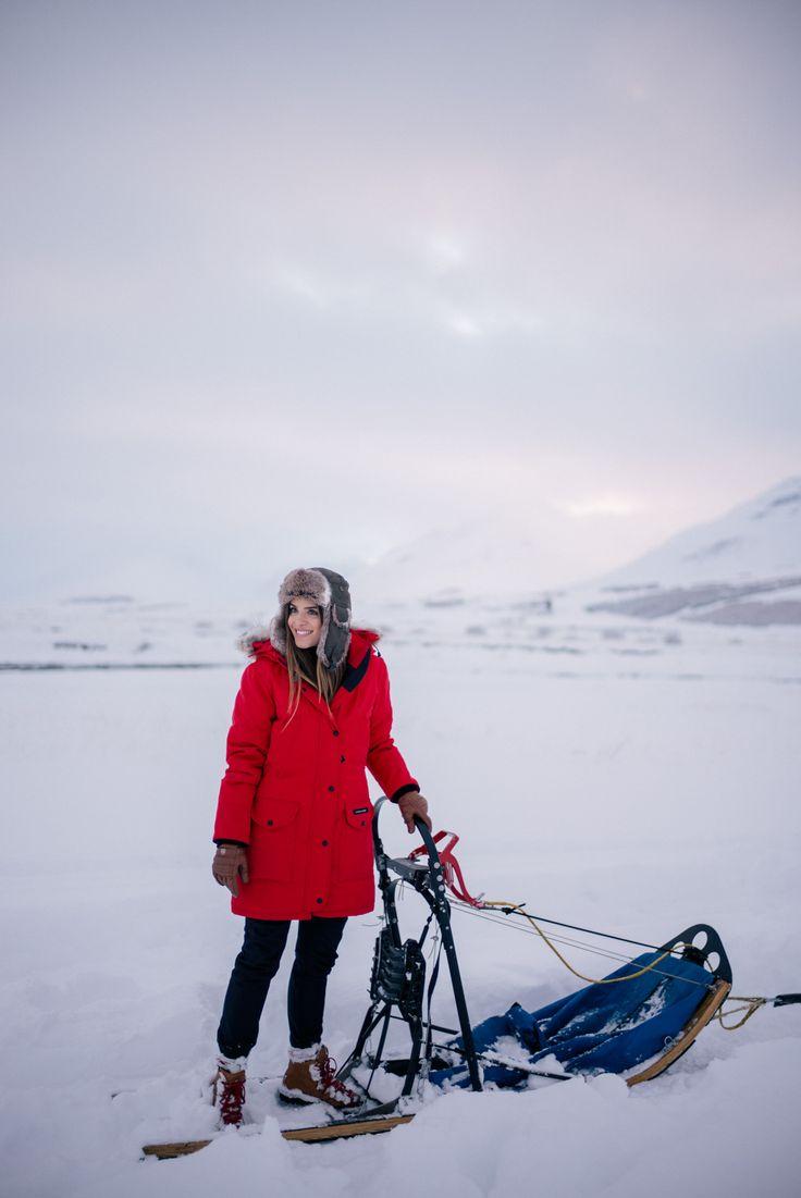 Gal Meets Glam Iceland Itinerary 3 -Canada Goose coat, J.Crew sweater & turtleneck, Black ski pants, Danner boots & Fjallraven hat