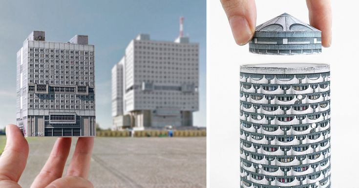 Brutal Charm Of Soviet Architecture That You Can Now Fold Out Of Paper | Bored Panda