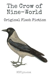 The Crow of Nine-World – Original Flash Fiction by M D Flyn