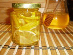 Mariannkonyha: Gyömbéres-citromos méz - megfázásra, immunerősítésre