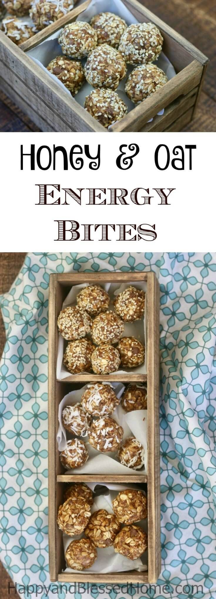 I love this easy recipe to create high-protein gluten-free delicious snacks for kids without ever turning on the stovetop or oven. This fool-proof recipe for Chocolate Chip, Peanut Butter, Honey and Oat Energy Bites is packed with protein and flavor – a perfect snack for moms too. They require no baking – just mix, roll and eat! Replace your granola bars with these for breakfast or lunch any day of the week. Ad