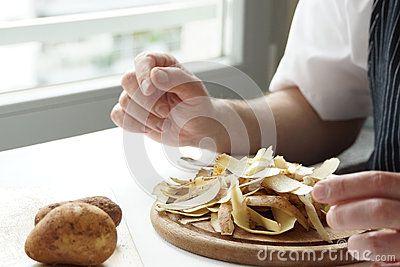 Pile of Potato Peels