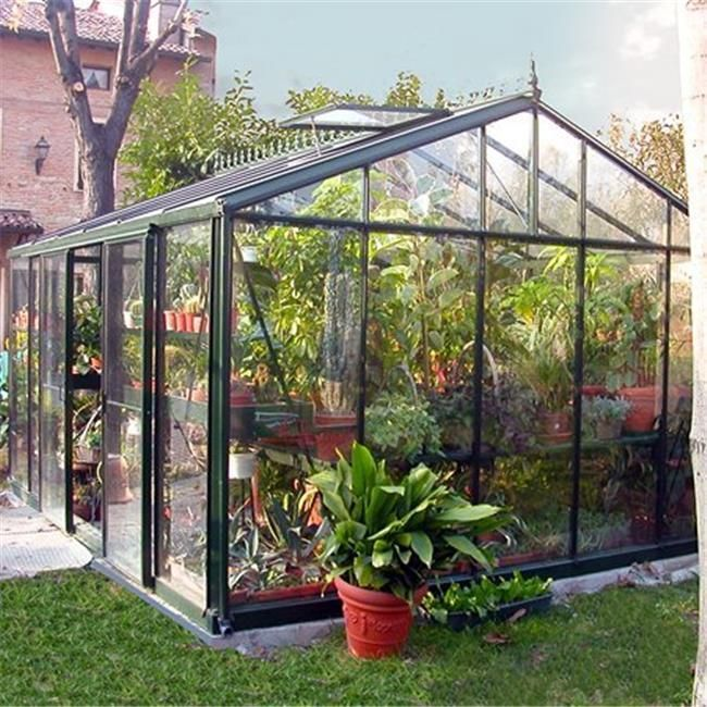 Exaco VI46 Large Royal Victorian Outdoor Greenhouse Dark Green | Home & Garden, Yard, Garden & Outdoor Living, Garden Structures & Shade | eBay!
