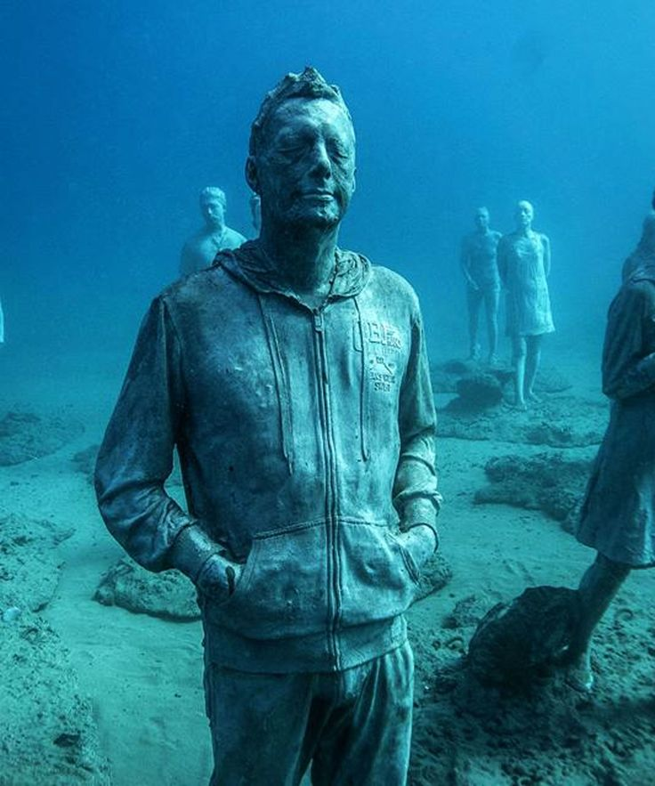 The Best Underwater Museum Lanzarote Ideas On Pinterest - Europes first ever underwater museum is full of hyperrealistic human sculptures