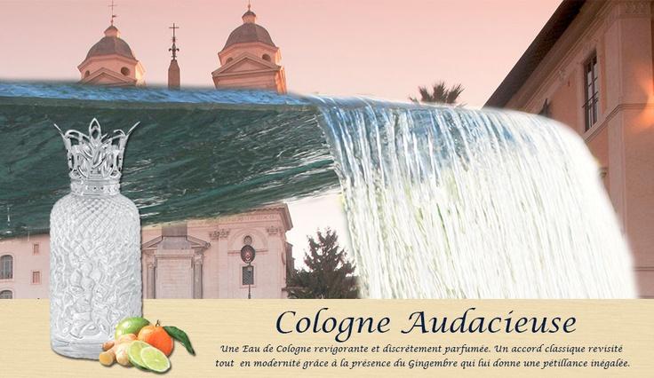 Parfum de Maison, Audacieuse Cologne. Découverte de la fraîcheur printanière. Une composition tonique, mêlant accords frais et acidulés.