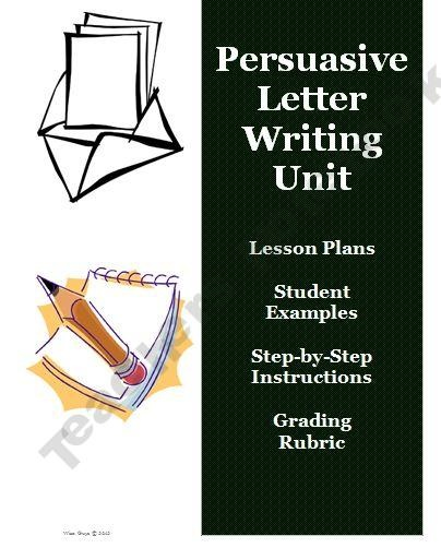 Best  Persuasive Letter Example Ideas On   Persuasive