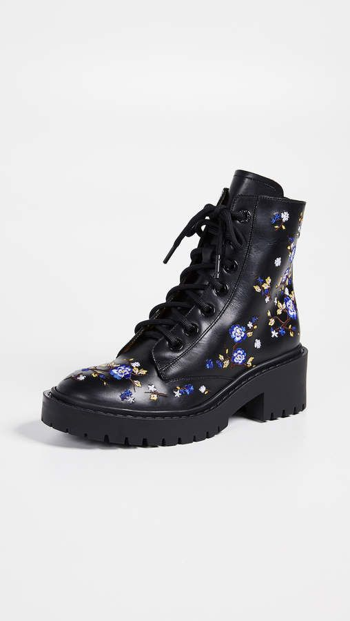 14c30af8a8c6 KENZO Pike Embroidered Boots