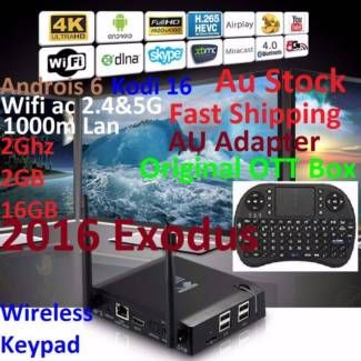 KIII K3 2016 Exodus 4K Android 6 Box 2G 2G 16 acWIF+W'less Keypey | Other Computers & Software | Gumtree Australia Manningham Area - Doncaster | 1118103527