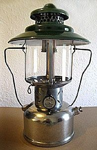 Old Coleman Lanterns are very collectible, this site as some good information on how to collect them.