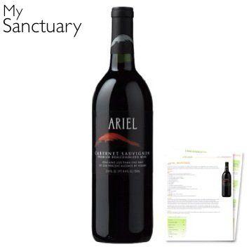 Ariel Cabernet Sauvignon Non-Alcoholic Red Wine, 2015 Amazon Top Rated Wine Education & Games #Kitchen