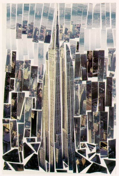 Urban Photography Idea: Photo Collage of a building - by michael albert