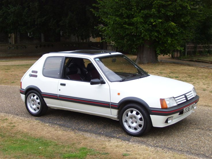 Peugeot 205 GTI - One of the best handling cars ever made