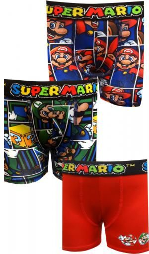 51da5c6284 Nintendo Super Mario Bros 3 Pack Boxer Briefs | Boy's Undies & PJs ...
