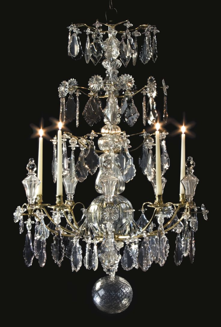 23 best vintage chandeliers images on pinterest antique chandelier north european baroque cut glass mounted ormolu five light chandelier probably germany or russia arubaitofo Choice Image