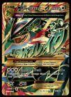 Mega M Rayquaza EX 98/98 Ancient Origins Pokemon Card  Actual Scans