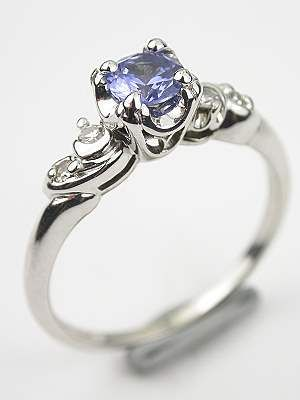 Blue Sapphire Engagement Ring NOT IN BLUE