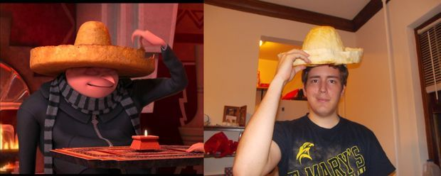 Despicable Me Tortilla Chip Sombrero Copycat I wonder if this would work?!?!