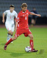 Fussball U21-Europameisterschaft 2011:  Fabian Lustenberger (Schweiz)