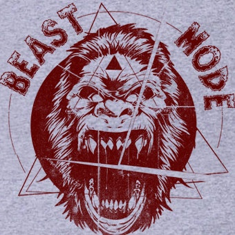 Full Out BEAST MODE T-Shirt Workout Gym Fitness Training Weightlifting Tee Shirt Tshirt Mens Womens Kids S-3XL. $14.99, via Etsy.
