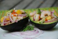 Shrimp Ceviche with Mango & Avocado