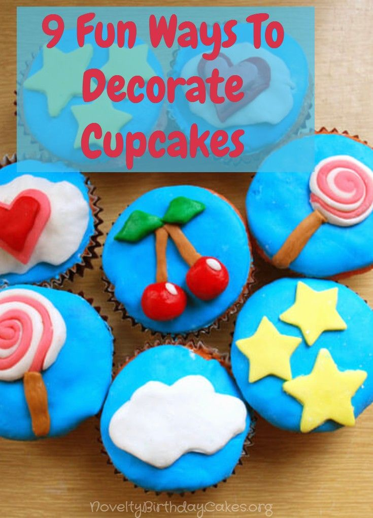 Decorating Cupcakes Can Be A Lot Of Fun If You Are Willing To