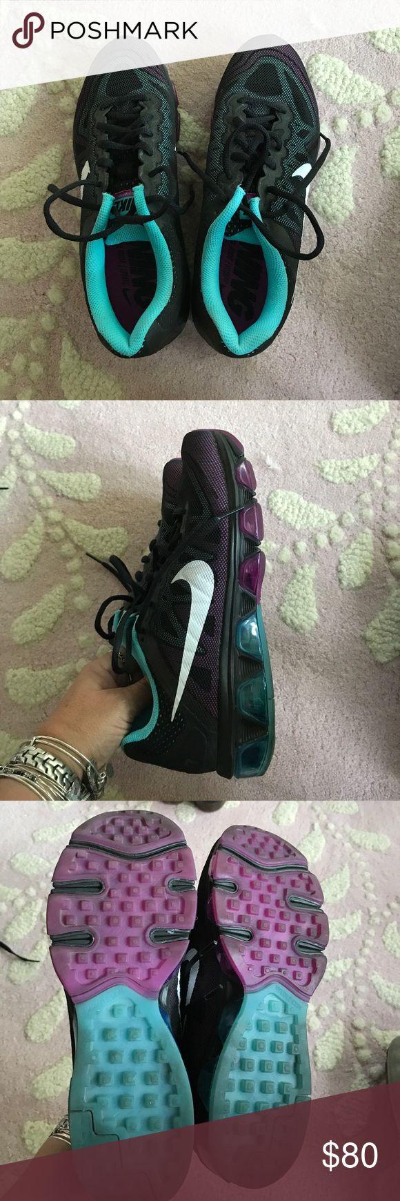 Nike Air Max Tailwind 7 Nike Air Max Tailwind 7 worn twice!! Size 8! In Excellent condition! Nike Shoes Athletic Shoes
