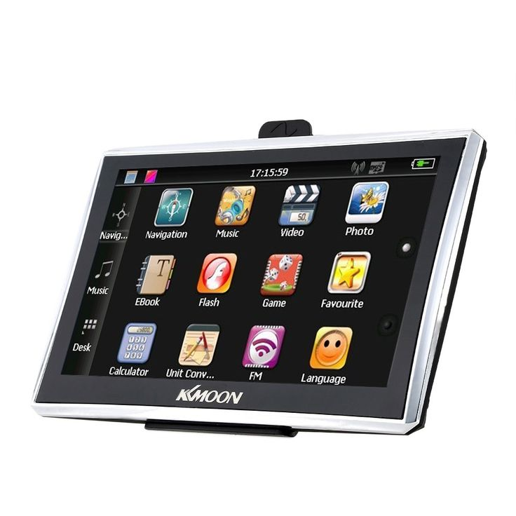 north america&canada 7inch 1080P HD Touch Screen Portable GPS Navigator with Back - Tomtop.com