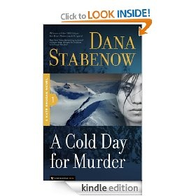 A Cold Day for Murder, by Dana Stabenow.     This is Book 1 of Stabenow's Kate Shugak series; try this and you'll have Books 2 and 3 ready for you!     Stabenow is an Edgar Award winner.