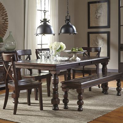 extendable dining room table by signature design by ashley. signature design by ashley extendable dining table room o